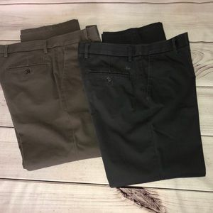 Lot of 2 Dockers Straight Fit/ Flat front Chinos